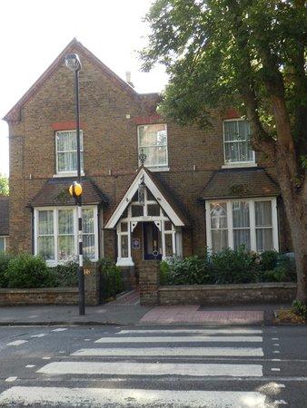 Outside Langton House