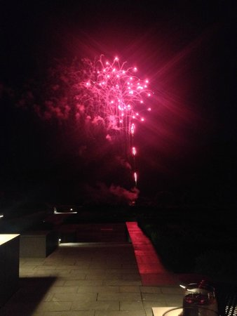 The Europe Hotel & Resort: Fireworks from the terrace.