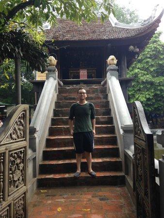 One Pillar Pagoda: Entrance to the Pagoda