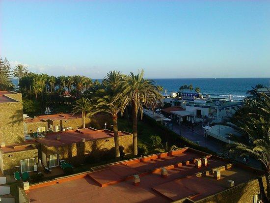 Hotel Riu Palace Oasis: vista desde la habitacion