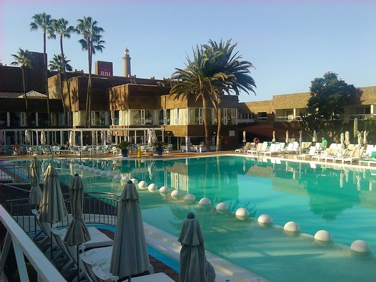 Hotel Riu Palace Oasis: piscina