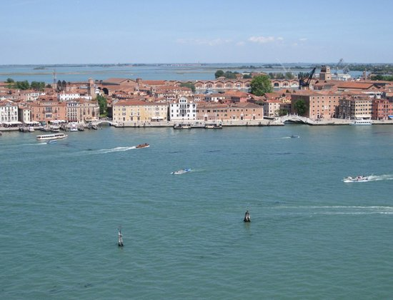 Grand Canal: From high up in a bell tower