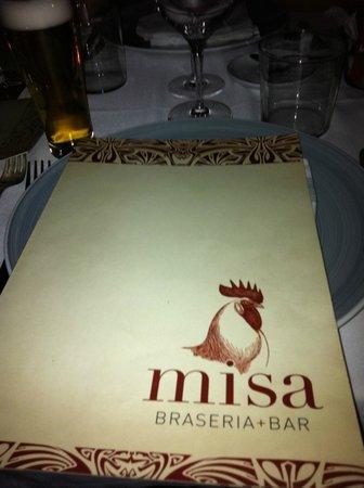 Misa Braseria restaurant