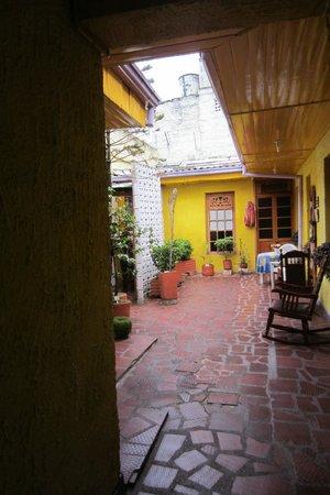 Hotel Casa Galeria: Binnenplaats Casa Galeria