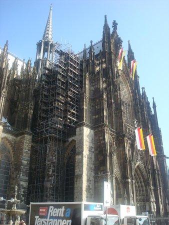 Cathédrale de Cologne : Вид на Кёльнский Собор