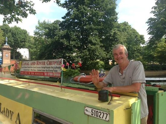 Canal and River Cruises Day Tours: Mike and his lovely boat