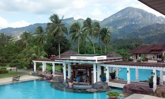Sheridan Beach Resort and Spa : View from balcony at Sheridan