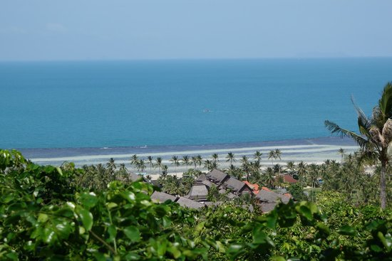 Four Seasons Resort Koh Samui Thailand : Blue sea