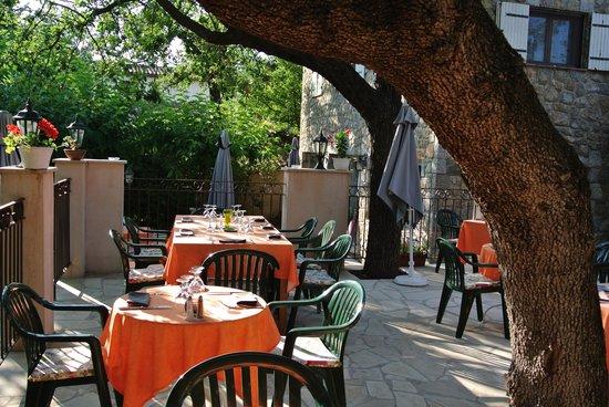 Restaurant La Bécassière : Terrasse