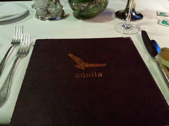 Hotel Schwarzer Adler A la Carte Restaurant: Menu