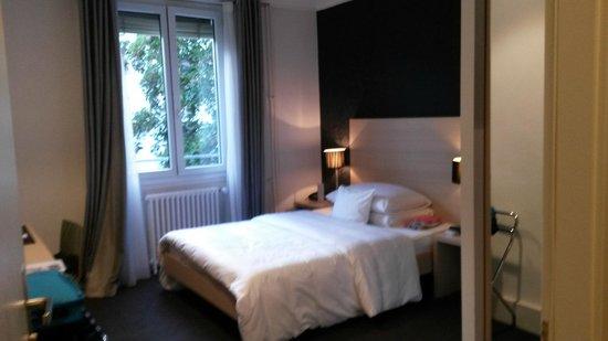 Mon Repos Hotel: Sehr bequemes Bett!