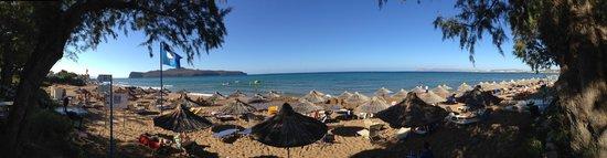Santa Marina Beach Hotel: Panorama af stranden