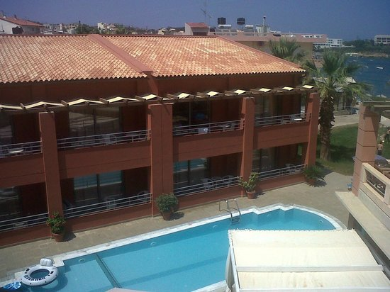 Hotel Anatoli : View from the 2nd building