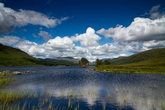 By The Way Hostel and Campsite: Loch Rannoch, July 2014
