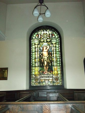 St. Ann's Church : St Ann's stained glass window
