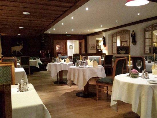 Hotel Schwarzer Adler A la Carte Restaurant: Sala
