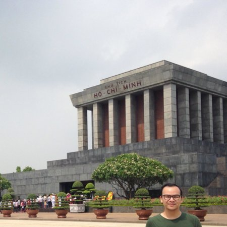 Ho Chi Minh Mausoleum: The Mausoleum