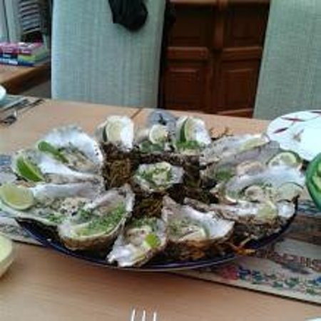Ratagan, UK: a small sample from the availble seafood