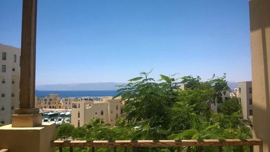 Marina Plaza Hotel Tala Bay: Sea view from my room
