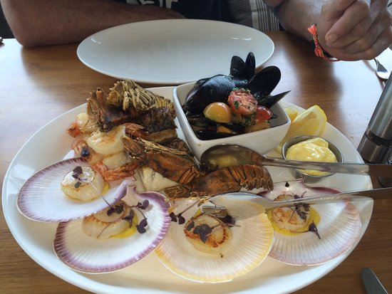 Mosmans Restaurant: Part 2 of fresh seafood platter