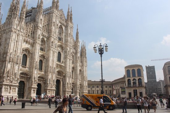 Catedral (Duomo): Front of the cathedral