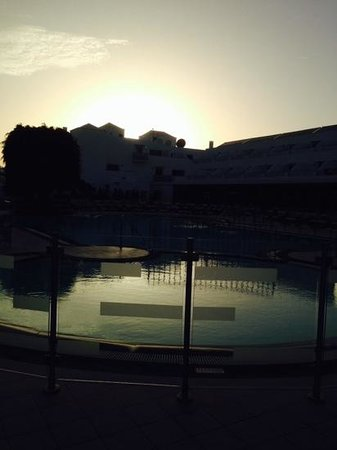 Hotel Lanzarote Village : lovley sunset