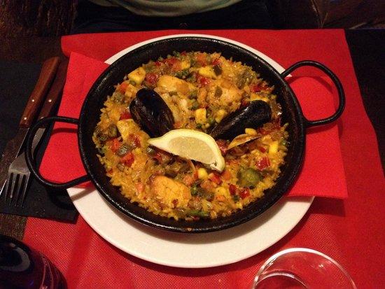 txikiteo : Paella mista