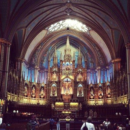 Basilique Notre-Dame de Montréal : Notre-Dame Basilica