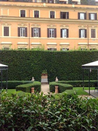 Villa Spalletti Trivelli : Lovely garden