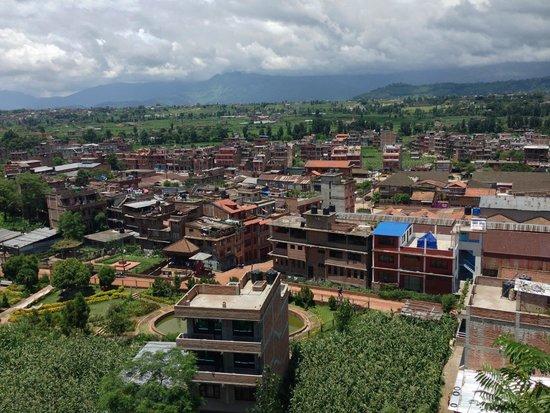 Thagu Chhen : The view