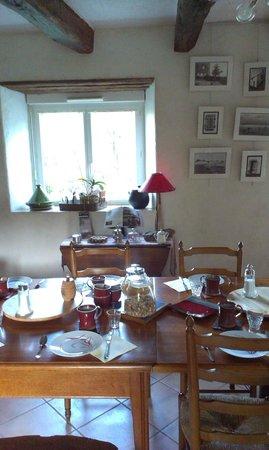 Chambres d'hotes Talvern : Des petits déjeuners succulents à Talvern