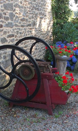 Chambres d'hotes Talvern : Arrivée à Talvern