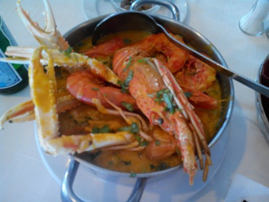 Restaurante O Infante: Arroz con marisco