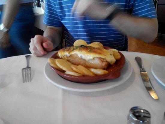 Restaurante O Infante: Bacalao O Infante