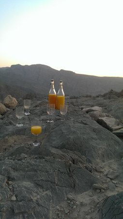 Six Senses Zighy Bay: amazing mountain trip w/ refreshments