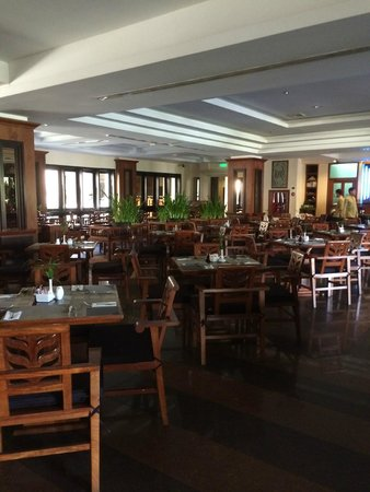 Angkor Miracle Resort & Spa : Dinning area