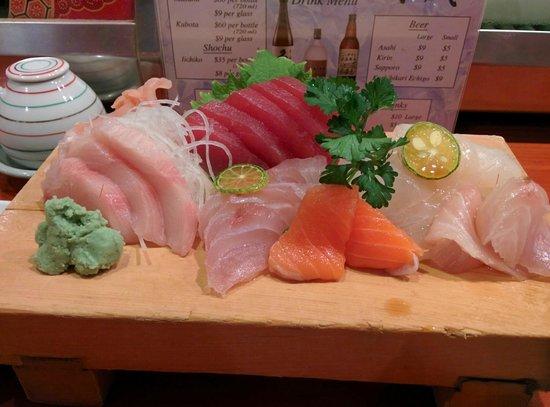Koiso Sushi Bar: Sashmi mix