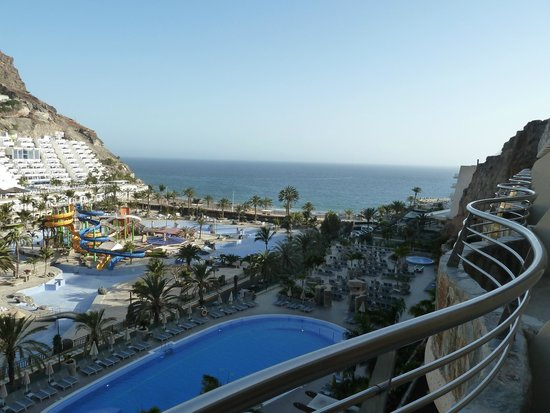 Paradise Valle Taurito: Aussicht vom 6.Stock auf das Meer