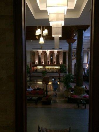 Angkor Miracle Resort & Spa : view of reception area