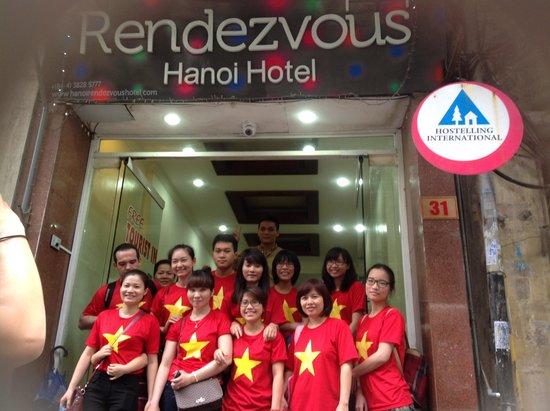Hanoi Rendezvous Hotel: Rendezvous Team at Rendezvous
