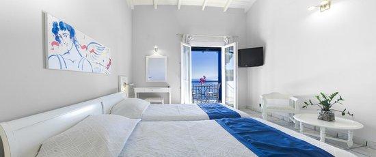 Panormos, Hellas: Double Room Full Sea view
