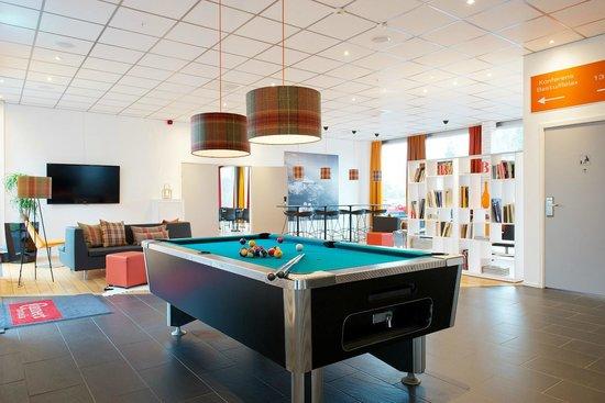 Connect Hotel Arlanda: Lounge, Businesscenter, Sauna