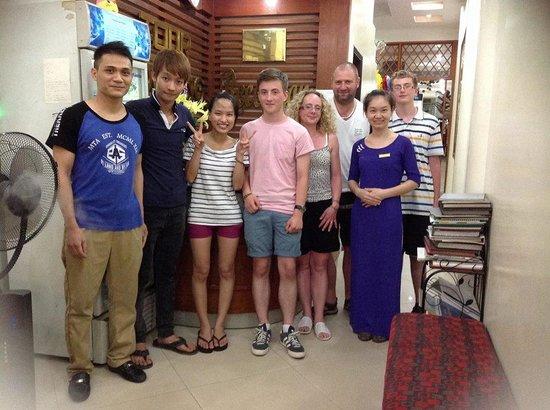 Hanoi Rendezvous Hotel : Farewell