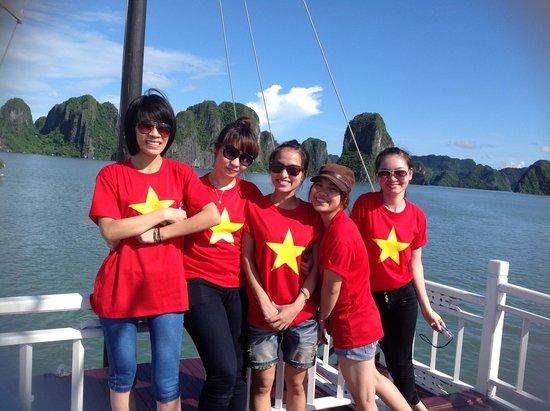 Hanoi Rendezvous Hotel : Rendezvous Girls