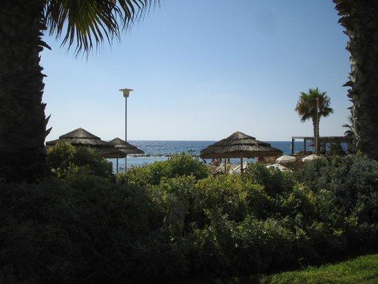 Hotel St. George: Beach vieuw
