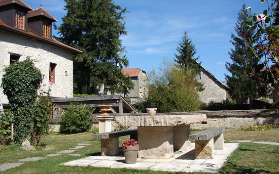 Le Moulin de Fontaine : Jardin