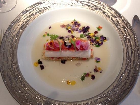 Restaurant Gordon Ramsay: Un halibut!!!!!!!