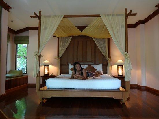 Sunrise Tropical Resort: เตียงนุ่มแสนสบาย นอนแล้วไม่อยากตื่น