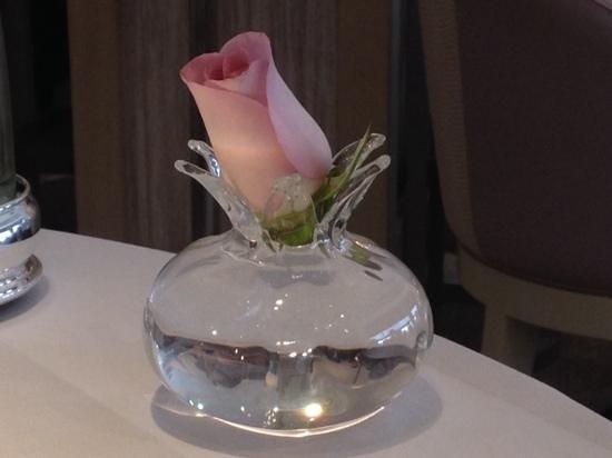 Restaurant Gordon Ramsay: El detalle de la mesa