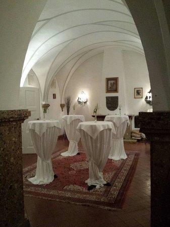 Romantik Hotel Post: Sala al primo piano